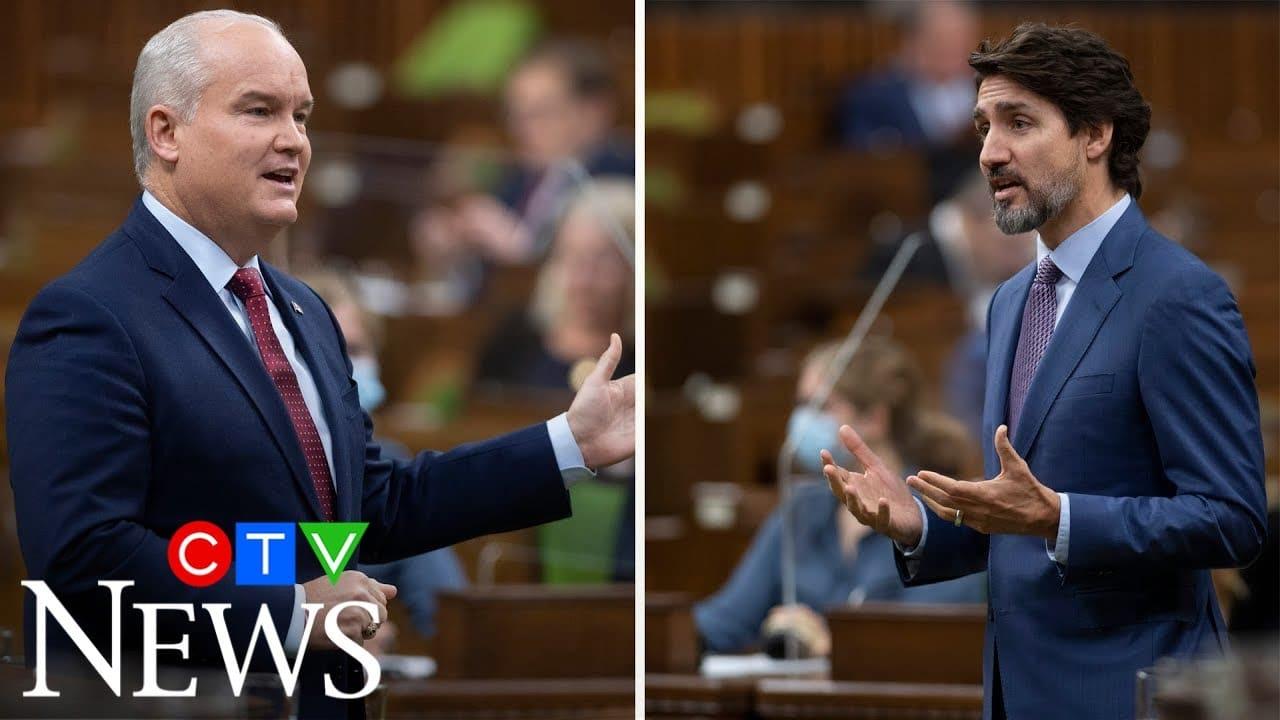 Justin Trudeau, Erin O'Toole spar over Keystone XL pipeline project 9