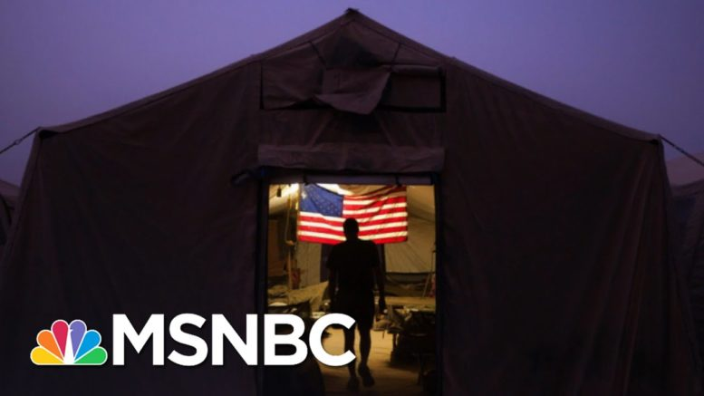 Trump Breaks Promise To Never Share Troop Deployment Plans | The 11th Hour | MSNBC 1