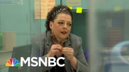 Teacher Instructs Students From Her Hospital Bed   Craig Melvin   MSNBC 4