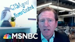 Cyber Security Chief: 'We Are More Resilient, More Prepared' For This Election | Katy Tur | MSNBC 3