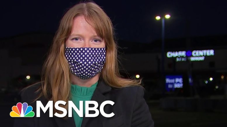 Biden Deputy Campaign Manager: Trump Is Focused On His Lawyers, Not His Voters   Deadline   MSNBC 1