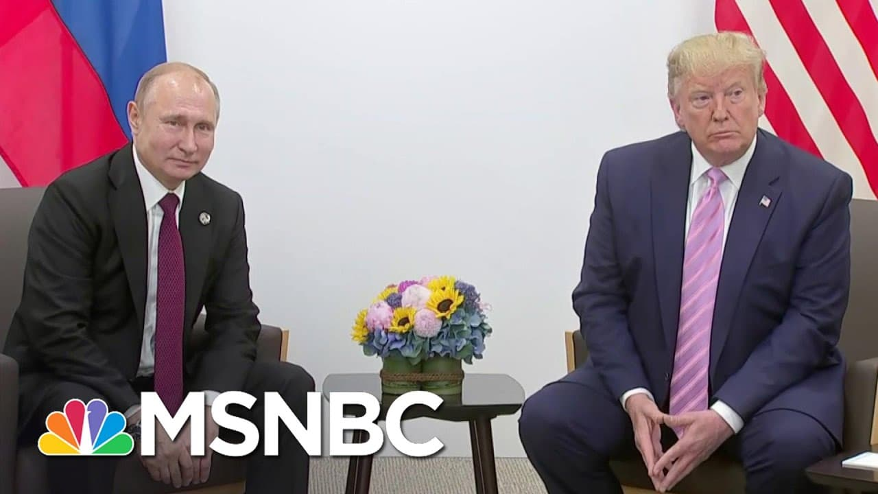 Samantha Power: 'Putin Was Denied' Interfering In The 2020 Election   The Last Word   MSNBC 1