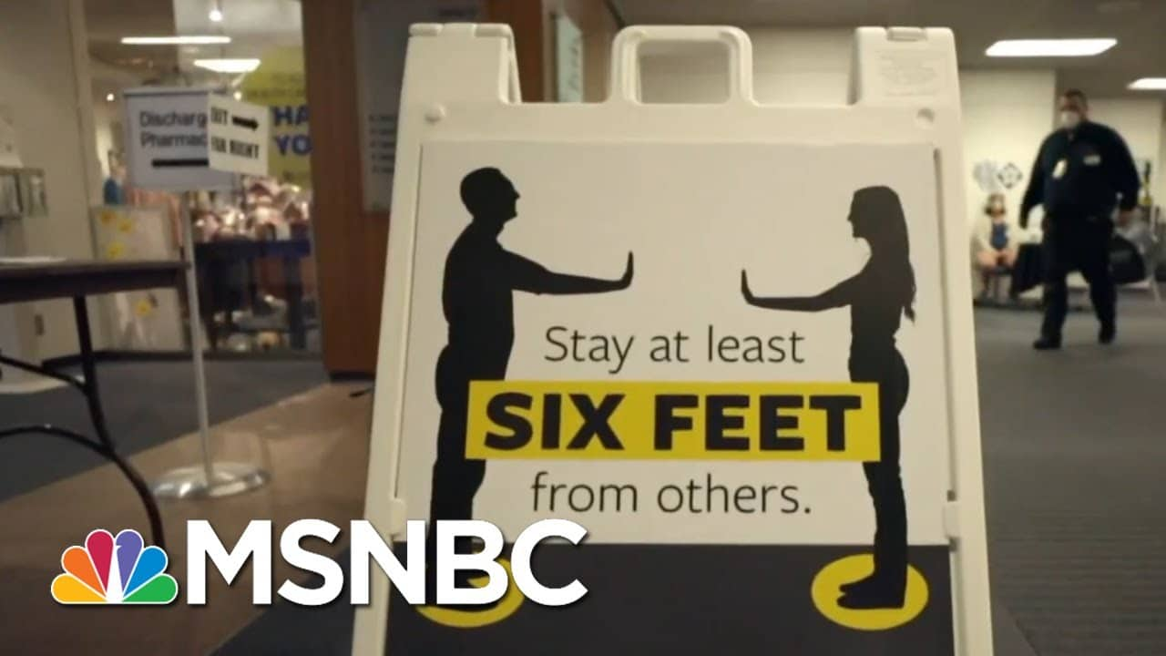 Kevin Kincaid: We Don't Have 'Capacity For Any More Of A [Covid] Upsurge' | MTP Daily | MSNBC 6