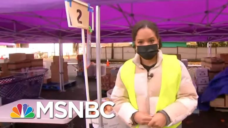 Chuck Todd Asks Viewers To Help: Try To Buy One Extra Bag Of Groceries For Food Bank | MTP Daily 1