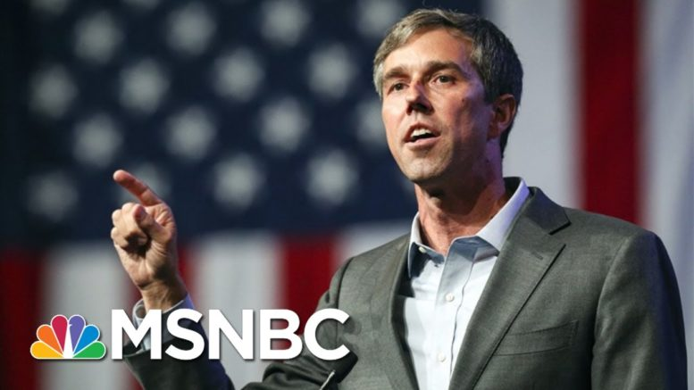Beto O'Rourke: I Hope The Story Of 2020 Is The Texas Voter | All In | MSNBC 1