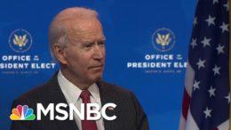 Biden Criticizes Trump's Refusal To Concede As 'Incredibly Damaging' To Democracy | MSNBC 1
