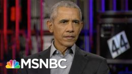 Obama 'Troubled' By Attempts To Upend Election From Republicans, Right-Wing Media | MSNBC 8