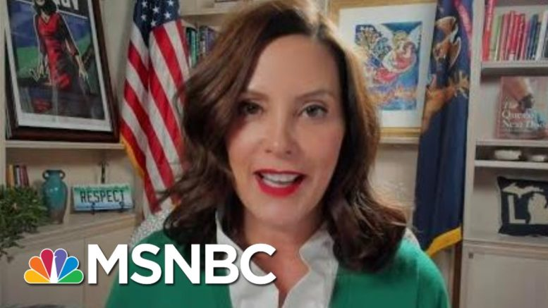 Gov. Whitmer On Mich. GOP Joining Trump Attempt To Steal Election | All In | MSNBC 1