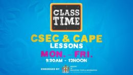 CSEC Lessons  9:45AM-12:00PM | Educating a Nation - November 19 2020 2