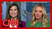 Hear Kayleigh McEnany's reason for not taking a question from CNN's Kaitlan Collins 5