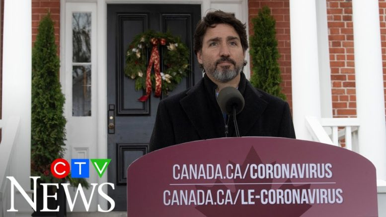 Justin Trudeau says 'no' to recommending nation-wide lockdown, supporting provincial measures 1