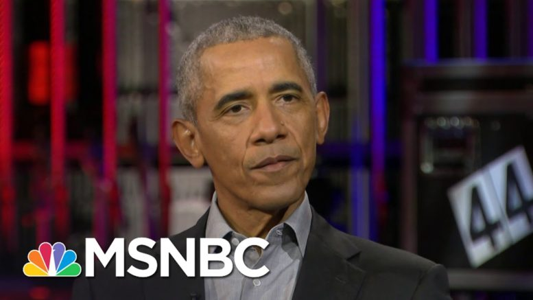 Obama's Advice For Kamala Harris: 'Follow Your Instincts And Follow Your Values' | MSNBC 1