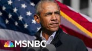 Obama: Trump An Obstacle To Biden Trying To 'Lower The Temperature' | The 11th Hour | MSNBC 3