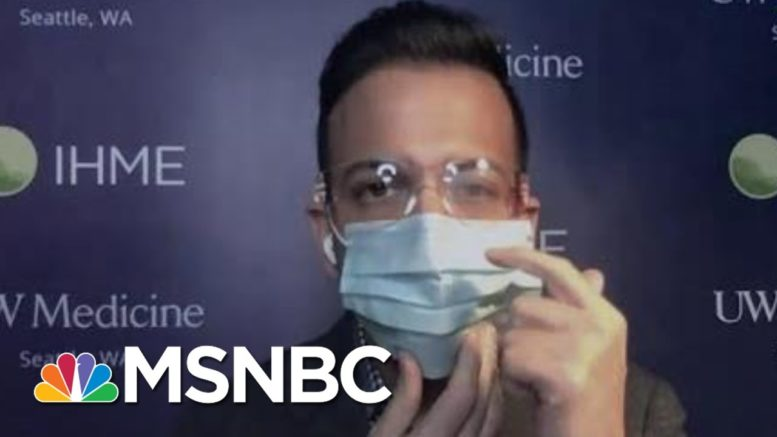 Dr. Vin Gupta On How To Travel Safely, But Only If You Must   The 11th Hour   MSNBC 1