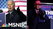 Biden Puts Combative Trump On Defense In Campaign's Last Day   The 11th Hour   MSNBC 5