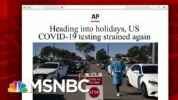 U.S. Testing Sites Report Long Lines, Hours Of Waiting | Morning Joe | MSNBC 5