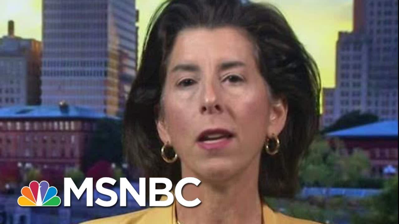 Rhode Island To Begin Two-Week Pause To Battle Virus   Morning Joe   MSNBC 9