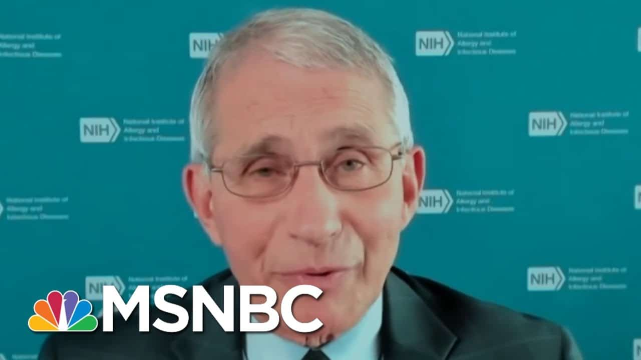 Dr. Fauci: 'We Should Be Flooding The System With Tests'   MTP Daily   MSNBC 8