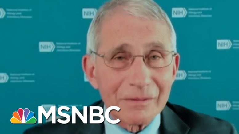 If We Implement The Simple Public Health Measures … We Can Blunt That Inflection | MTP Daily | MSNBC 1