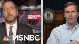 Gov. Beshear On Covid: 'We're Dealing With A Fast Moving Train' | MTP Daily | MSNBC 3