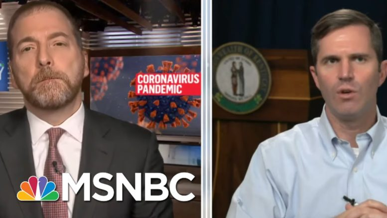 Gov. Beshear On Covid: 'We're Dealing With A Fast Moving Train' | MTP Daily | MSNBC 1