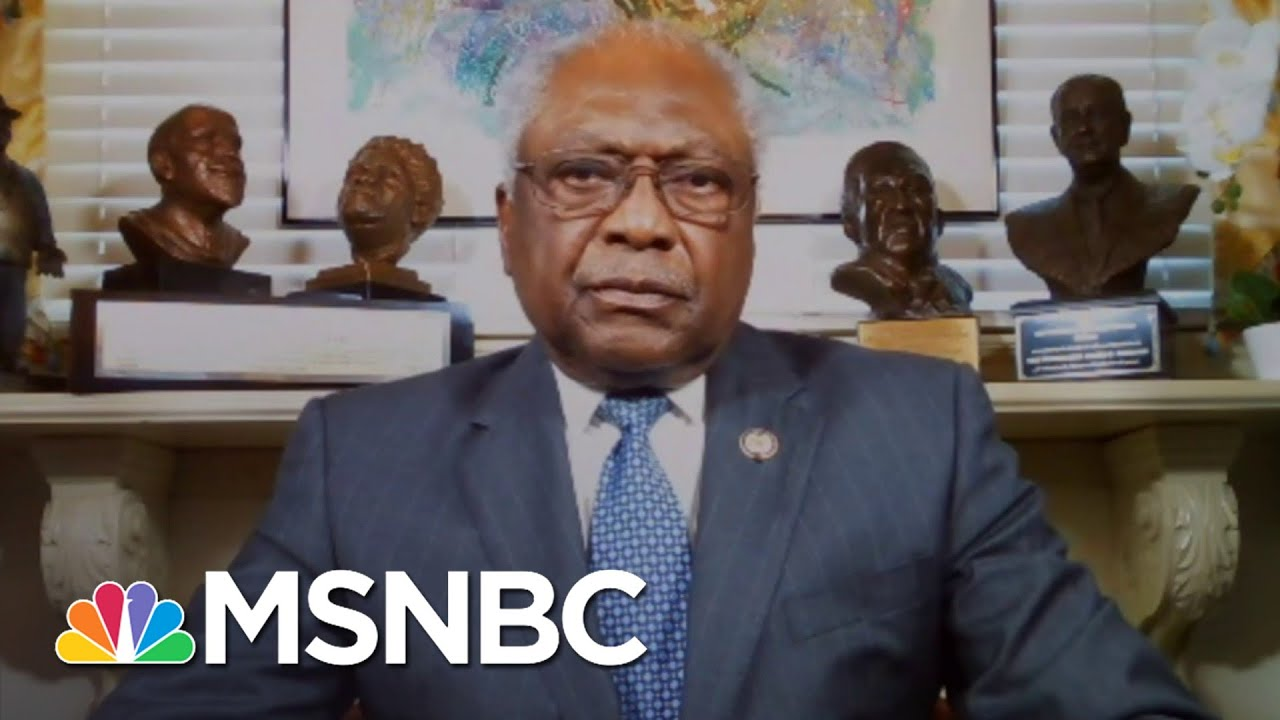 Jim Clyburn: 'Let's Do What's Necessary To Get People's Lives More In Order' | Craig Melvin | MSNBC 8