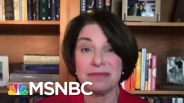 Klobuchar Says Trump Undermining Democracy Is A 'Travesty' | Katy Tur | MSNBC 2