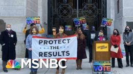 Activists Prepare For Trump Effort To Short-Circuit Election   Rachel Maddow   MSNBC 1