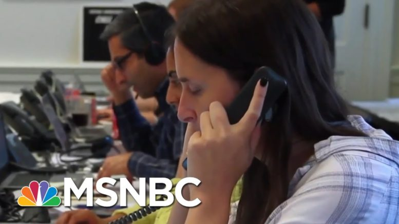 Election Protection Hotline Staffed Up And Engaging 2020's Challenges | Rachel Maddow | MSNBC 1