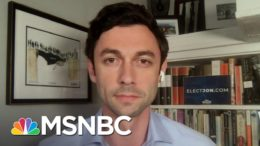 Jon Ossoff: Sen. Perdue Is 'Using His Office To Line His Own Pockets' | The Last Word | MSNBC 2