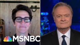 Lawrence O'Donnell Thanks Rachel Maddow For Her Powerful Covid-19 Message | The Last Word | MSNBC 9