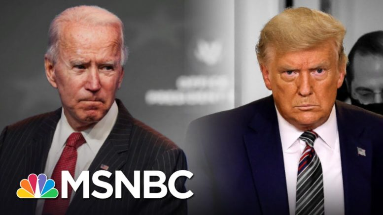 Trump Still Blocking Biden Transition As Covid Surge Shatters Records   The 11th Hour   MSNBC 1