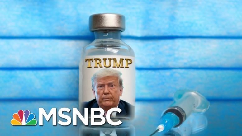 Geraldo Rivera Wants To Name The Covid-19 Vaccine After Trump | The 11th Hour | MSNBC 1