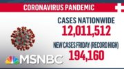 U.S. Surpasses 12 Million Coronavirus Cases | MSNBC 3