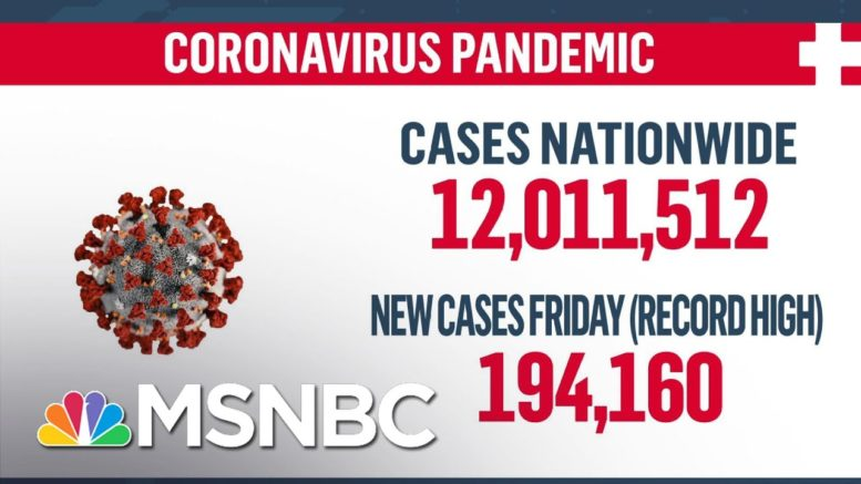 U.S. Surpasses 12 Million Coronavirus Cases | MSNBC 1