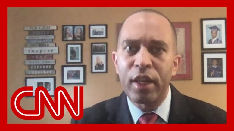 Rep. Jeffries: Trump is in a massive meltdown right now 1