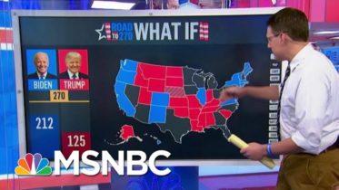 Steve Kornacki Maps Out Possible Election Day Scenarios | Morning Joe | MSNBC 10