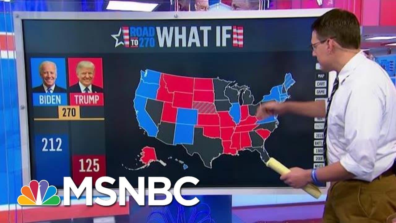 Steve Kornacki Maps Out Possible Election Day Scenarios | Morning Joe | MSNBC 8