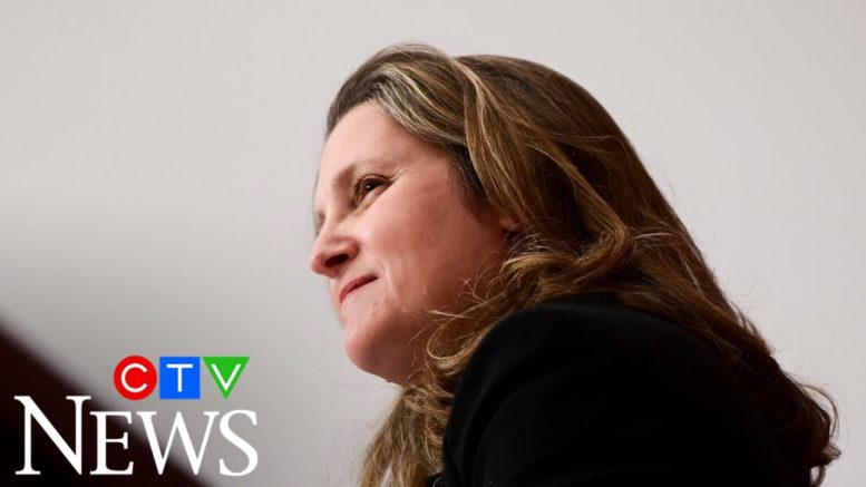 Coronavirus: Freeland asked if lockdowns are unfair to small businesses 1
