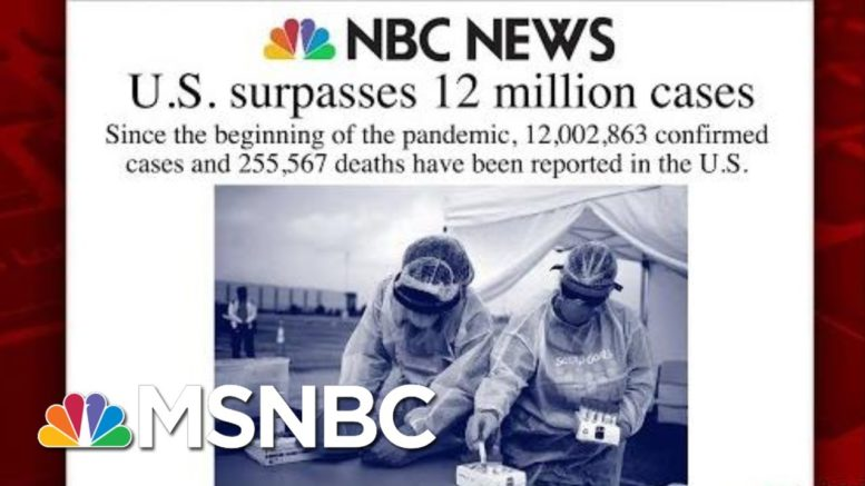 'Cancel Your Plans' For Thanksgiving, Says Doctor As Cases Rise | Morning Joe | MSNBC 1