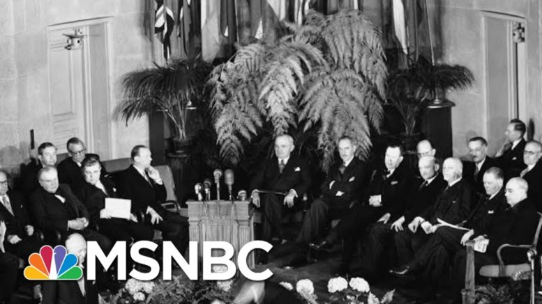Harry Truman And The Importance Of Bipartisanship | Morning Joe | MSNBC 1