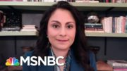 Member Of Biden-Harris Covid Advisory Board Stresses Importance Of Wearing Masks   Katy Tur   MSNBC 3