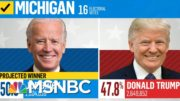 Michigan Certifies Election Results, Making Biden's Win Official | Deadline | MSNBC 3