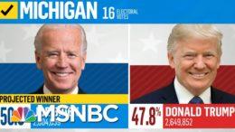 Michigan Certifies Election Results, Making Biden's Win Official | Deadline | MSNBC 7
