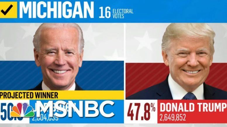 Michigan Certifies Election Results, Making Biden's Win Official | Deadline | MSNBC 1