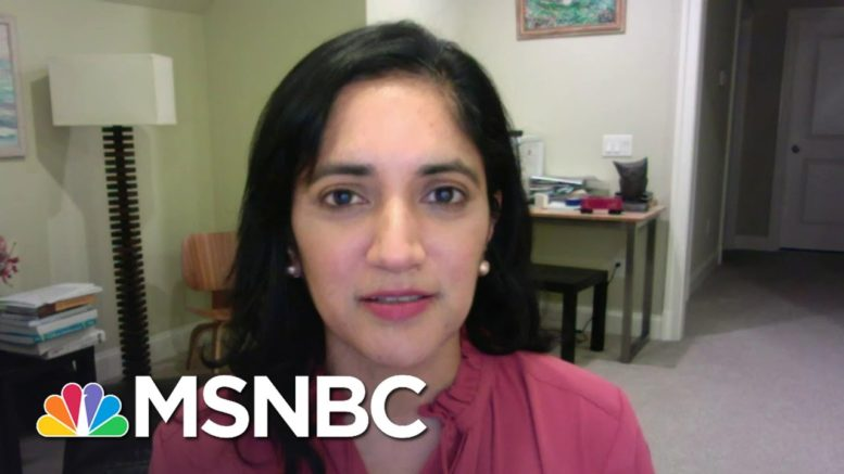 Dr. Kavita Patel On Holiday Travel: 'It's About Helping Health Care Workers'   The ReidOut   MSNBC 1