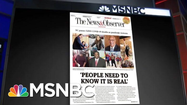 Ted Cruz Mocks Covid-19 Safety Warnings As Texans Die | All In | MSNBC 1
