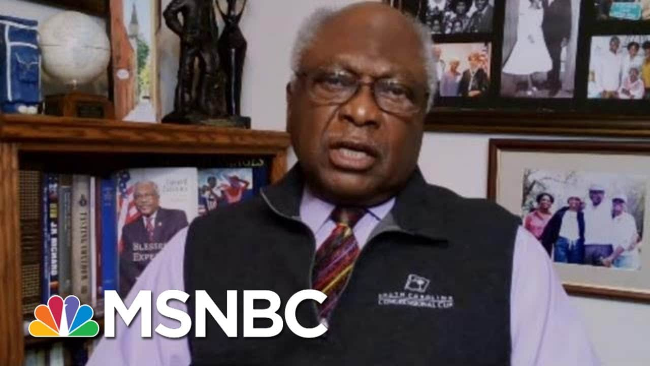 Rep. Clyburn: Biden Exemplifies What Is Good About The U.S. | Morning Joe | MSNBC 9