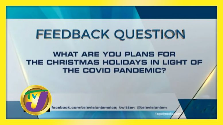 TVJ News: Feedback Question - November 20 2020 1