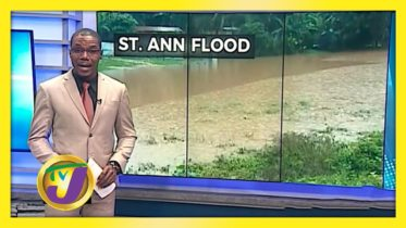 Rain Batters St. Ann - November 20 2020 10